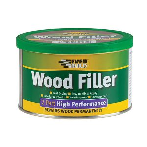 everbuild wood filler 2 part meduim stainable 500g