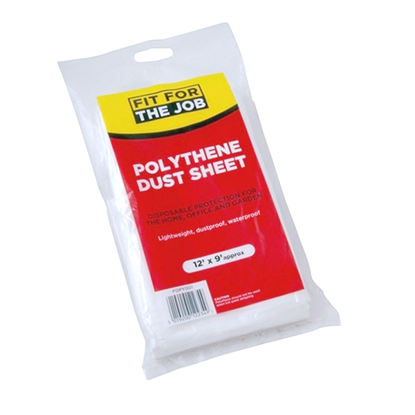 fit for the job polythene dust sheets