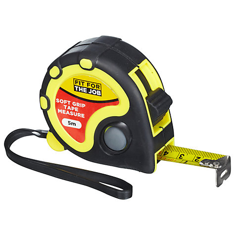 fit for the job tape measure 5m