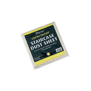 harris stair case dust sheet
