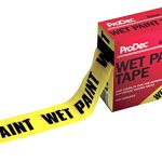 pro dec non adhesive wet paint tape