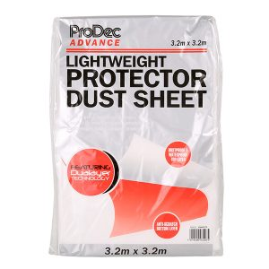 prodec light weight dust sheet